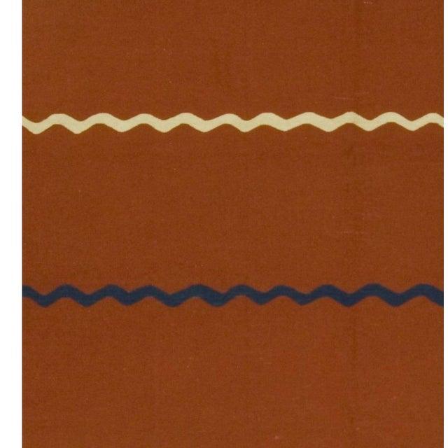 Cabin Turkish Vintage Handwoven Kilim - 5′7″ × 7′9″ For Sale - Image 3 of 5