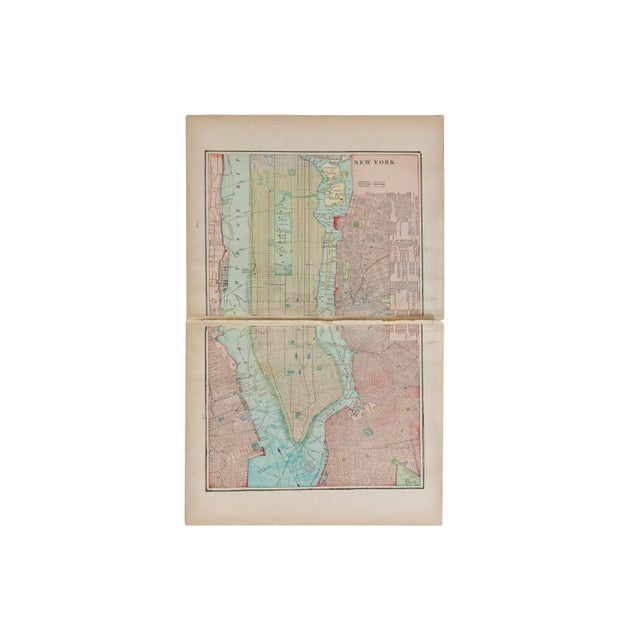 Map Of New York For Sale.Cram S 1907 Map Of New York City