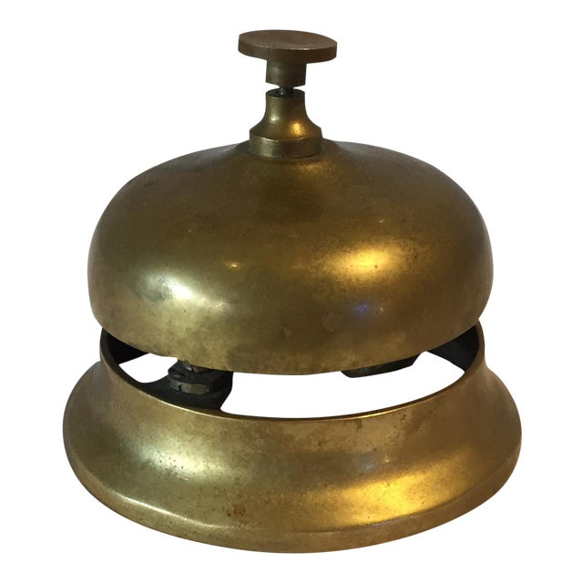 1950s Brass Hotel Reception Bell - Image 1 of 4