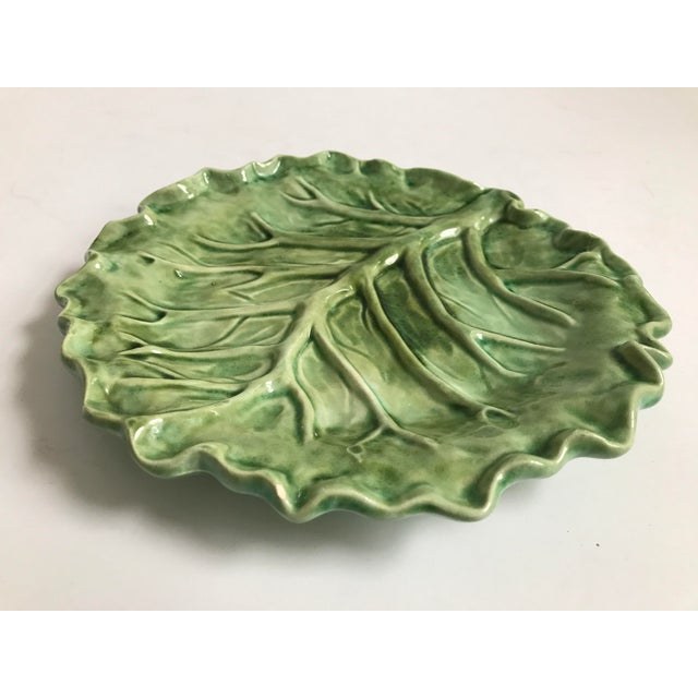 Cabbage Leaf Serving Plate - Image 3 of 8