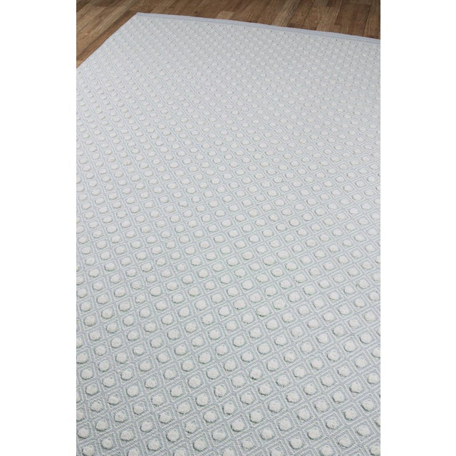 Erin Gates by Momeni Langdon Windsor Blue Hand Woven Wool Area Rug - 5' X 8' For Sale - Image 4 of 6