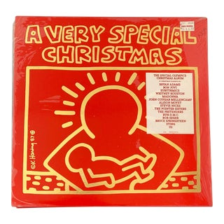 1980s 1987 Keith Haring Record Art For Sale