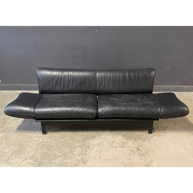 De Sede Leather Sofa For Sale In New York - Image 6 of 12