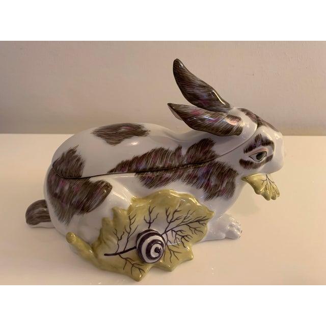 Chelsea House Inc Mid 20th Century Chelsea House Porcelain Rabbit For Sale - Image 4 of 10