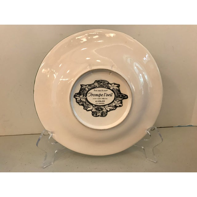 Vintage Trompe L'Oeil Banana Plate For Sale In Dallas - Image 6 of 8