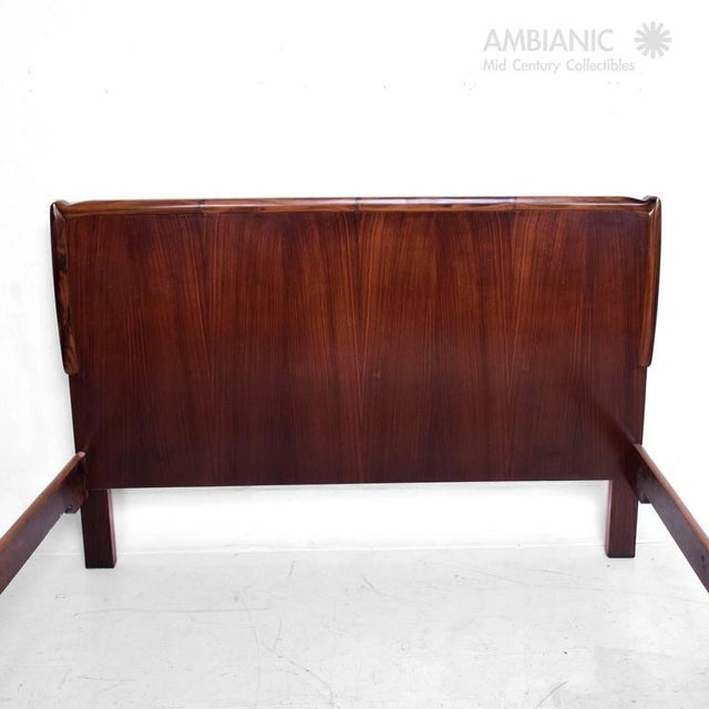 Mid-Century Modern Italy Bed Frame For Sale - Image 4 of 10