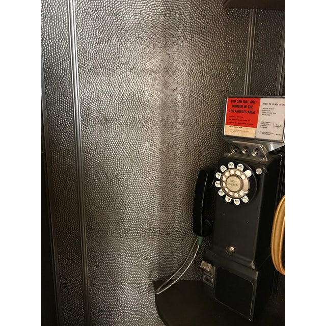 Vintage Wooden Stand Alone Phone Booth For Sale - Image 11 of 11