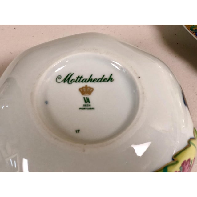 Asian Mottahedeh Tobacco Leaf Pattern Tureen For Sale - Image 3 of 9