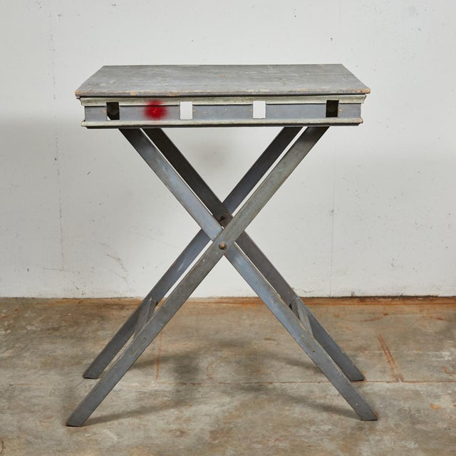 Mid 19th Century French Folding Presentation Table For Sale - Image 4 of 9
