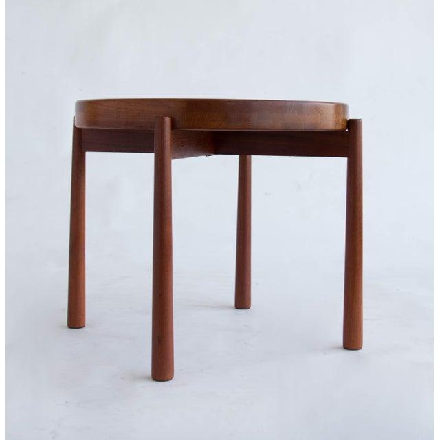Jens Quistgaard for Dux Flip-Top Teak Table - Image 4 of 10