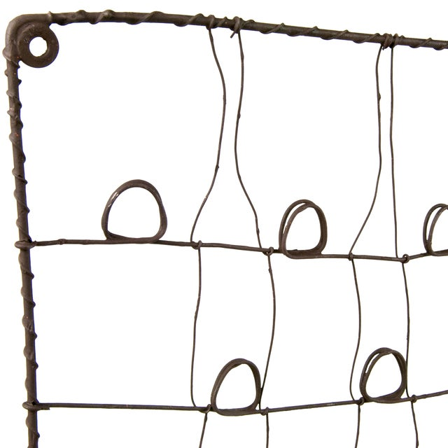 Recycled Rustic Wire Card Holder - Image 4 of 4