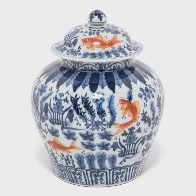 Revered for centuries for its elegant designs of rich cobalt blue and pure white, traditional Chinese blue-and-white...