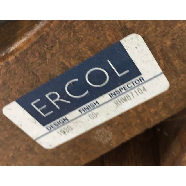 1980s Mid-Century Modern Ercol Savlle Arm Chairs - a Pair For Sale In Nashville - Image 6 of 10