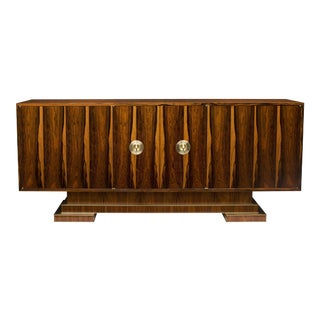 Old Growth Brazilian Rosewood Sideboard--One of Only Two Available in This Rare Material For Sale