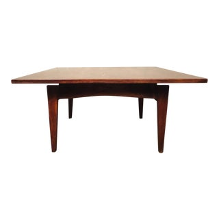Jens Risom Mid-Century Coffee Table For Sale