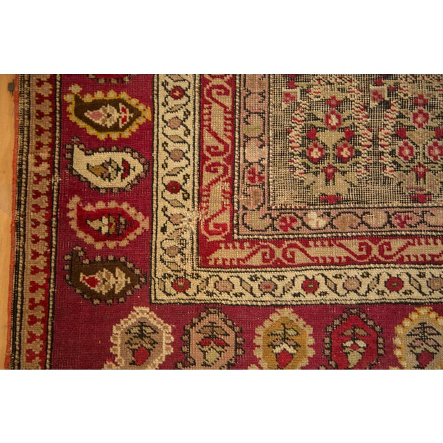 """Late 19th Century Antique Karabagh Carpet - 5'2"""" x 9'4"""" For Sale - Image 5 of 11"""