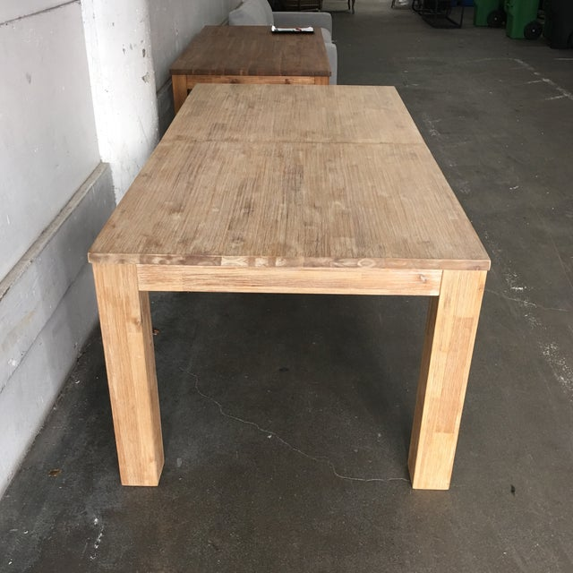 N.P.D. Bedford Butterfly Dining Table in Brushed Smoke For Sale In San Francisco - Image 6 of 9