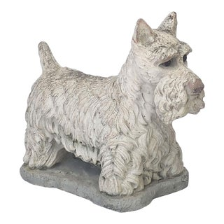 Garden Stone Scottish Terrier or Scottie Dogs, Individually Priced For Sale