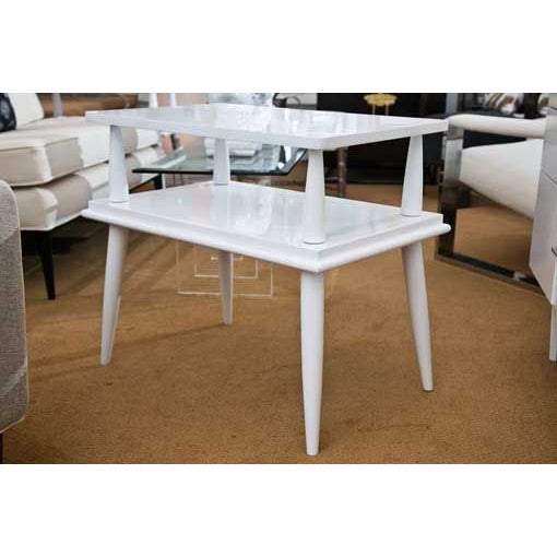 Mid-Century Tiered Tables - A Pair - Image 2 of 6