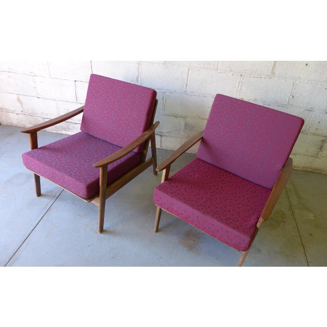 Mid-Century Modern Lounge Chairs - A Pair - Image 4 of 7