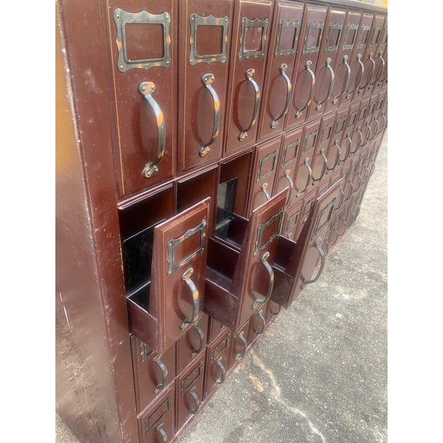 Mid 20th Century Mid 20th Century Vintage Industrial File Cabinet For Sale - Image 5 of 11