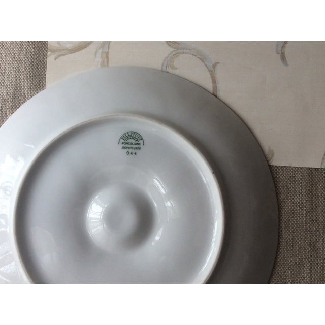 1950s Vintage French Porcelain Oyster Plate, 1950s For Sale - Image 5 of 7