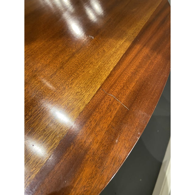 1930s Hepplewhite Mahogany Card Table For Sale In Boston - Image 6 of 11