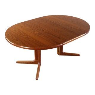 Glostrup Teak Dining Table w/ Leaf For Sale