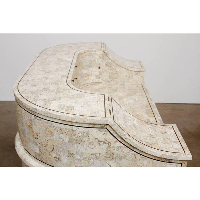Late 20th Century Tessellated Stone Carlton House Desk by Maitland-Smith For Sale - Image 5 of 13