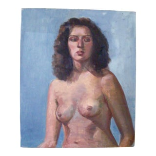 Nude Female Portrait Painting For Sale
