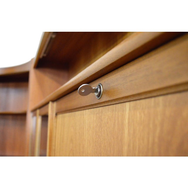 Mid Century Teak Wall Unit By Nathan Furniture - Image 3 of 11