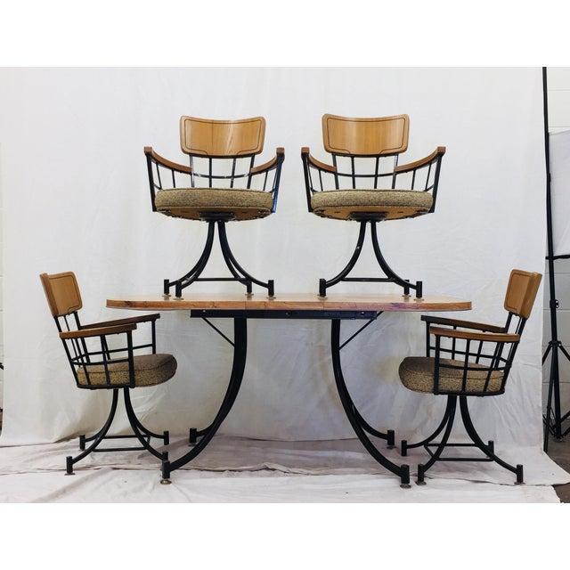 Paul McCobb Mid Century Modern McCobb Dinette Set For Sale - Image 4 of 10