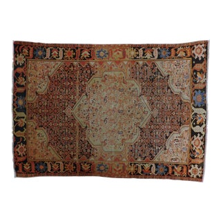 1900 Antique Persian Malayer Rug For Sale