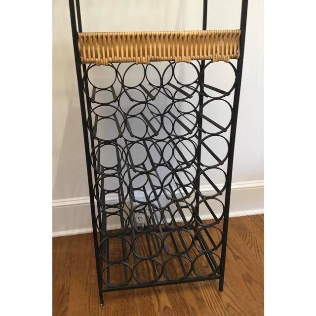 1950's Mid-Century Modern Wine Rack Designed by Arthur Umanoff For Sale In New York - Image 6 of 12