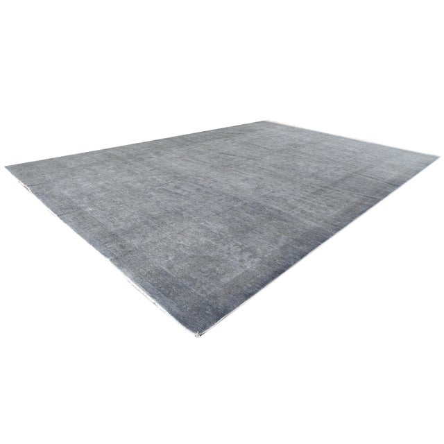 21st Century Modern Overdyed Rug For Sale - Image 9 of 13
