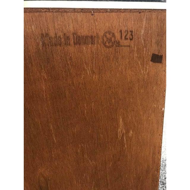 Danish Teak Tall Dresser - Image 6 of 7