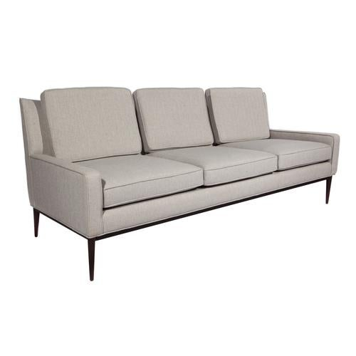 1950'S VINTAGE PAUL MCCOBB FOR DIRECTIONAL THREE-SEAT SOFA For Sale In New York - Image 6 of 9