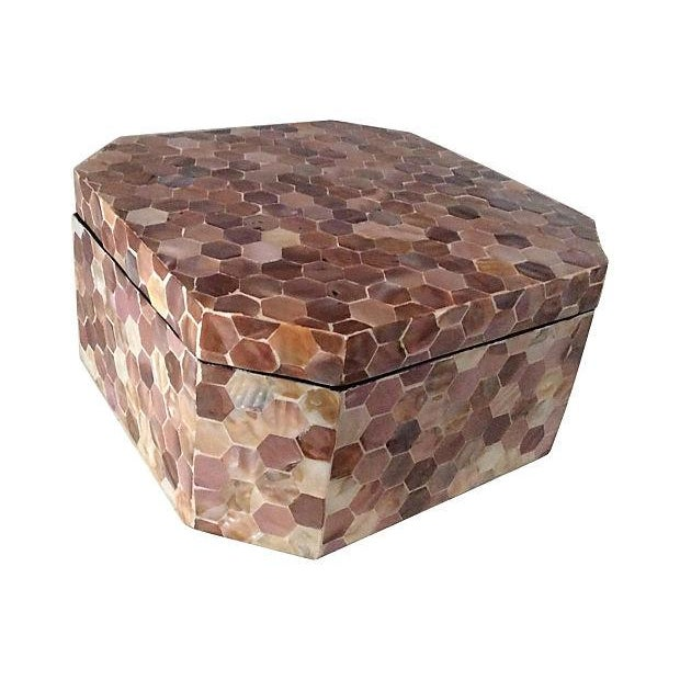 Mother of Pearl Tiled Box - Image 8 of 8
