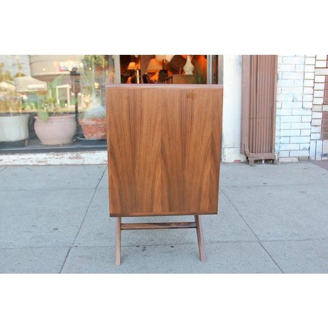 Mid-Century Modern Mid-Century Walnut Credenza For Sale - Image 3 of 12