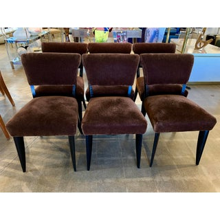 Art Deco Period Dining Chairs - Set of 6 Preview