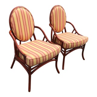 Ficks Reed Bentwood Chairs- A Pair For Sale