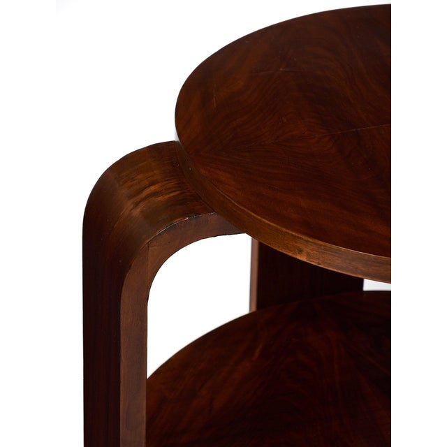 Art Deco Period Walnut Gueridon For Sale - Image 9 of 11