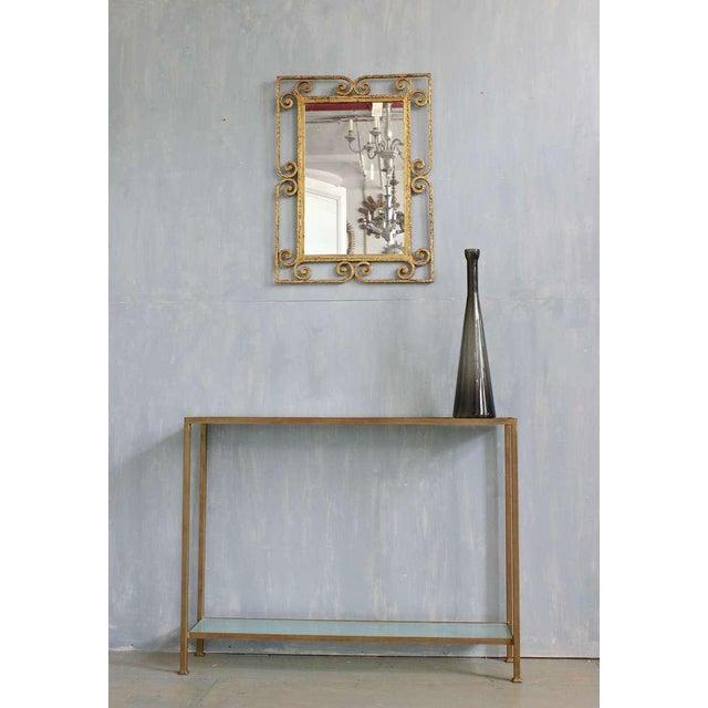 Spanish Gilt Metal Mirror - Image 3 of 10