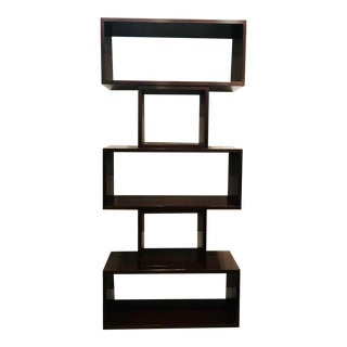 Thomas Pheasant for Baker Modern Mahogany Finished Wood Encore Etagere For Sale