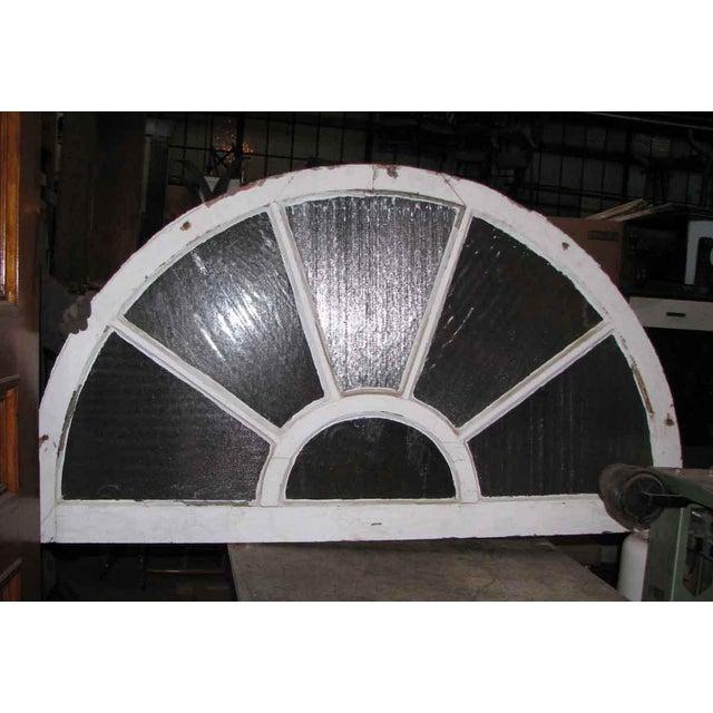 Reclaimed Fan Shaped Light Transom For Sale - Image 4 of 5