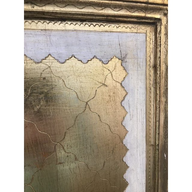 20th Century Italian Giltwood Florentine Room Divided Screen Hollywood Regency For Sale - Image 11 of 13