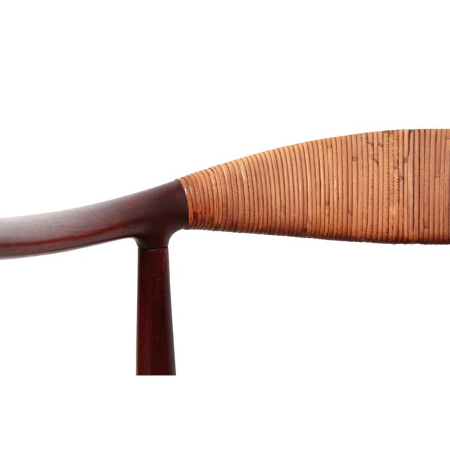Hans Wegner Classic Cane Chair For Sale - Image 11 of 13