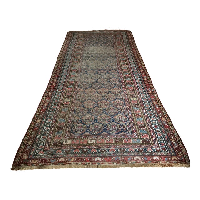 "Vintage Traditional Carpet Runner - 4'2"" x 10'4"" - Image 1 of 7"