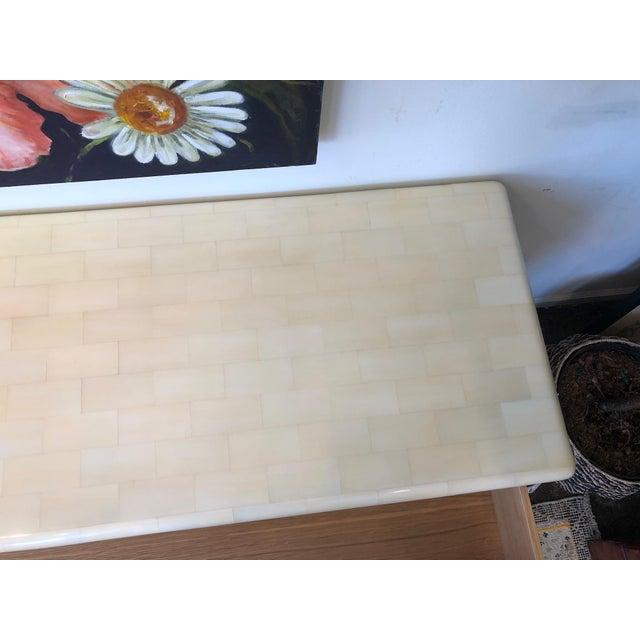Made Goods Yaren Ivory Faux Horn Dresser For Sale - Image 9 of 12