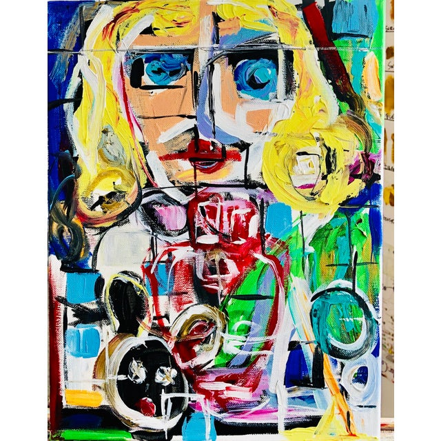 J J Justice Contemporary Painting For Sale - Image 9 of 11